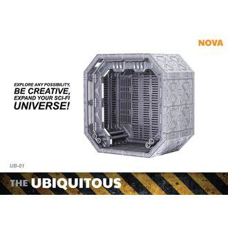 Dekoracija (diorama) Ubiquitous Diorama Case for Action Figures Standard Edition, NNM