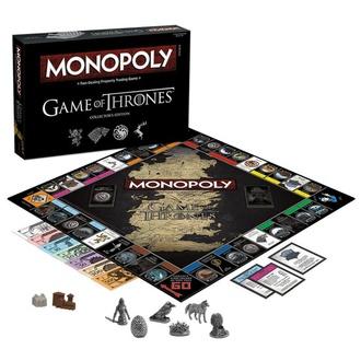Namizna družabna igra Game of Thrones - Monopoly Collectors Edition - Angleška Različica, NNM, Igra prestolov
