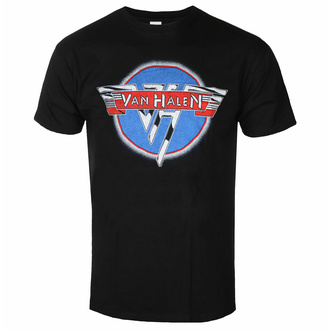 Moška majica Van Halen - Chrome Logo - ROCK OFF, ROCK OFF, Van Halen