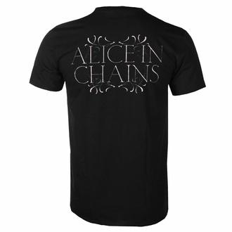 Moška majica Alice In Chains - Moon Tree - Črna - ROCK OFF, ROCK OFF, Alice In Chains