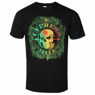 Moška majica Cypress Hill - South Gate Logo & Leaves - ROCK OFF, ROCK OFF, Cypress Hill