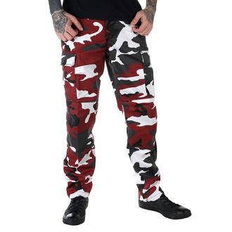 hlače moški ZDA BDU - RED-CAMO, MMB