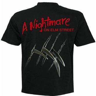 Moška majica SPIRAL - A Nightmare On Elm Street - FREDDY CLAWS ELM STREET - Črna, SPIRAL, Mora v ulici brestov