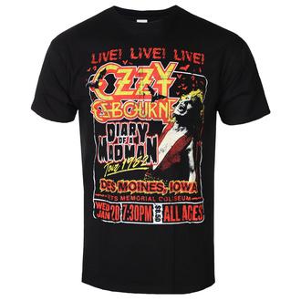 Moška metal majica Ozzy Osbourne - Diary Of A Madman Tour - ROCK OFF, ROCK OFF, Ozzy Osbourne
