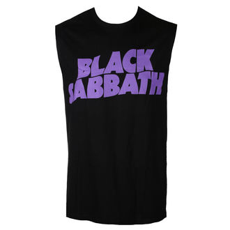 Moški top tank BLACK SABBATH - PURPLE LGO - BRAVADO, BRAVADO, Black Sabbath