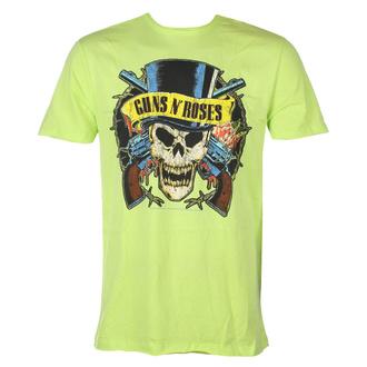 Moška majica Guns N' Roses - DEATH SKULL - OCEAN BARVA ZELENA - AMPLIFIED, AMPLIFIED, Guns N' Roses