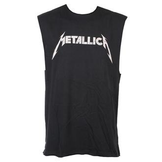 Unisex TOP Metallica - White Logo - AMPLIFIED, AMPLIFIED, Metallica
