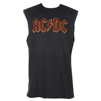 Unisex TOP AC-DC - Logo - AMPLIFIED, AMPLIFIED, AC-DC