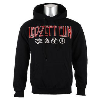 jopa s kapuco moški Led Zeppelin - LOGO & SYMBOLS - PLASTIC HEAD, PLASTIC HEAD, Led Zeppelin