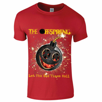 Moška majica Offspring - Hot Sauce - Bad Times - rdeča, NNM, Offspring