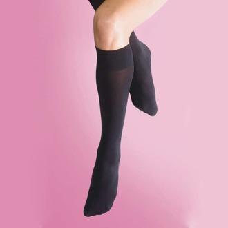 koleno visoko LEGWEAR - 70 denier opaque knee high 1pp - črna, LEGWEAR