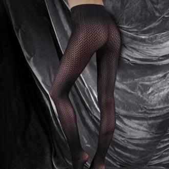 nogavice LEGWEAR - couture ultimates - na catherine - črna, LEGWEAR