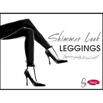 Ženske legice LEGWEAR - Shimmer look - Črna, LEGWEAR