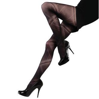 Hlačne nogavice LEGWEAR - Criss cross - Črna, LEGWEAR