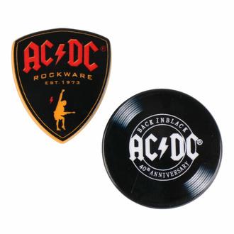 Broške (set 2kos) AC/DC, CERDÁ, AC-DC